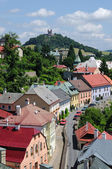 Banska Stiavnica, historical mining town, Slovakia Unesco — Foto de Stock