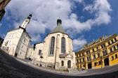 Banska Stiavnica, historical mining town — Foto de Stock