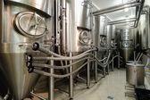 технология пивоваренный завод — Стоковое фото