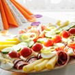 Wedding appetizer prepared - Stock Photo