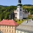Stock Photo: BanskStiavnicOld castle and historic buildings and urban