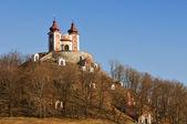 Calvary in Banska Stiavnica, upper Church - Slovakia UNESCO — Stock Photo