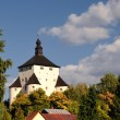 New Castle in Banska Stiavnica, Slovakia Unesco — Stock Photo