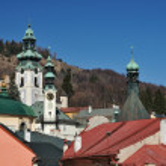 Banska Stiavnica historical mining town Slovakia, Unesco — Stock Photo #9569592
