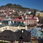 Banska Stiavnica historical mining town Slovakia, Unesco — Stock Photo #9569635