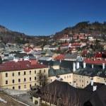 Banska Stiavnica historical mining town Slovakia, Unesco — Stock Photo #9569707