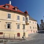 Banska Stiavnica historical mining town Slovakia, Unesco — Stock Photo