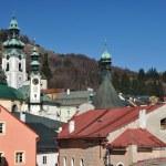 Banska Stiavnica historical mining town Slovakia, Unesco — Stock Photo #9569809