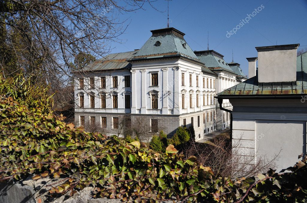 School of Chemistry in Banska Stiavnica, Slovakia Unesco — Stock Photo #9570035