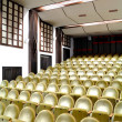 Empty seats in cinembefore feature film screening — Stock Photo #9620412