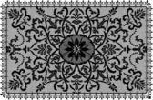 Frame lace-like — Stock Photo