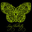 Stock Photo: Lacy butterfly