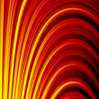 Abstract background with fire flow — Stock Photo