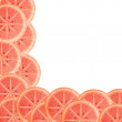 Background from sliced blood orange — Stock Photo