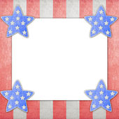 4th of July independence day on note paper — Stock fotografie