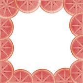 Orange blod foder till den bildruta som isolerade — Stockfoto