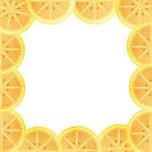 Orange foder till den bildruta som isolerade — Stockfoto