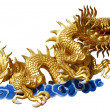 Dragon on white background - Stock fotografie
