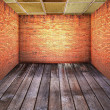 Old brick room — Stock Photo #8159960