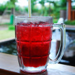 Cup of red tea — Stock Photo
