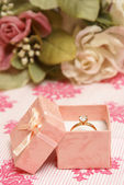 Diamond Ring — Stock Photo