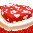 Heart Shaped Cake — Stock Photo #8109565