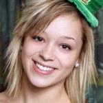 St Patricks Day Girl — Stock Photo #8109958