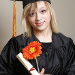Graduating Student — Stock Photo