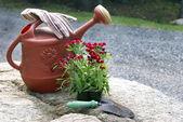 Gardening Still Life — Stock Photo