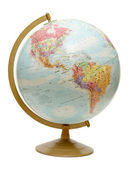Globe on the Americas — Stock Photo