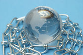 Globale stärke — Stockfoto