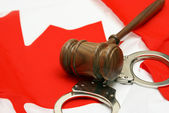 Canadian Jurisdiction — Stock Photo