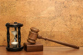Time for Legal Aid — Stock Photo