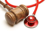 Medical Lawsuit — Stock Photo