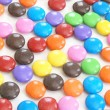 Coated Candy Background — Stock Photo