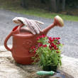 Gardening Still Life - Stock Photo