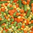Mixed Vegetables Background — 图库照片