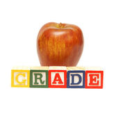 Grade Word — Stock Photo