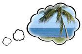 Dream Vacation Concept — Stock Photo