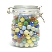 Jar of Marbles — Foto Stock