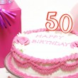 Happy 50th Birthday — Stock Photo #9583696