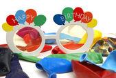 Celebratory Birthday Sunglasses — Stock Photo
