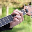Playing the Guitar — Stock Photo #9816432