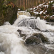 Spring Waterfall — Stockfoto