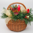 Royalty-Free Stock Photo: Christmas Basket