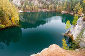 Beautiful Autumn Lake — Stock Photo