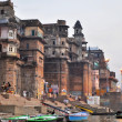 Ghat in Varanasi, India — Stock Photo