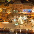 Christmas Market in Litomerice, Czech Republic — Stock fotografie