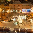 Christmas Market in Litomerice, Czech Republic — Stock Photo