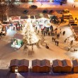Christmas Market in Litomerice, Czech Republic — Foto de Stock